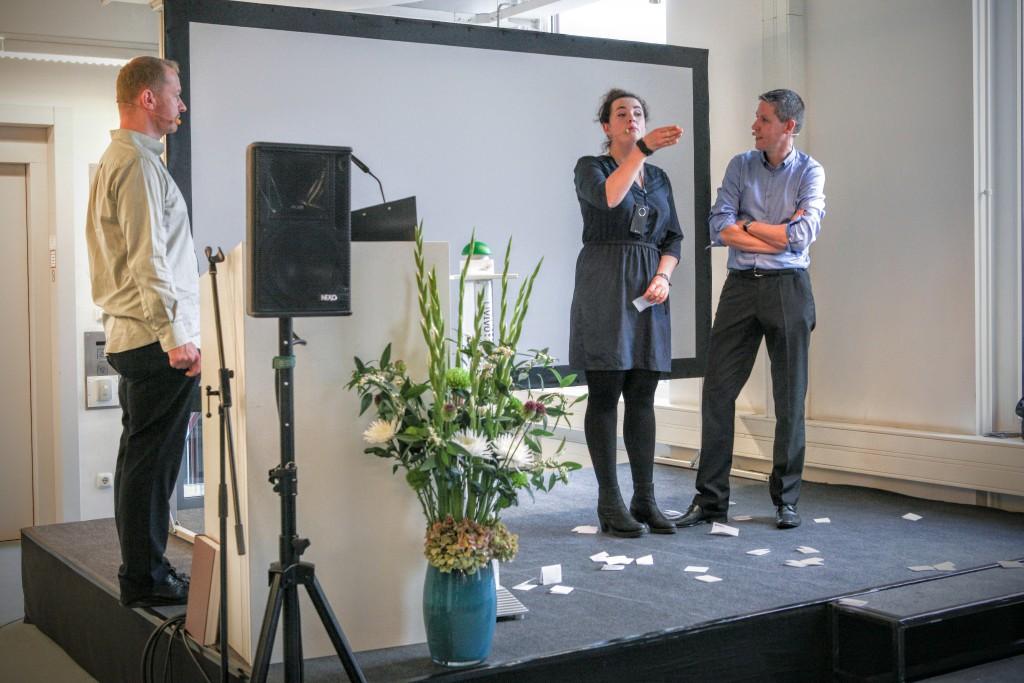 Science Impro zum Launch von livivo.de bei ZBMED
