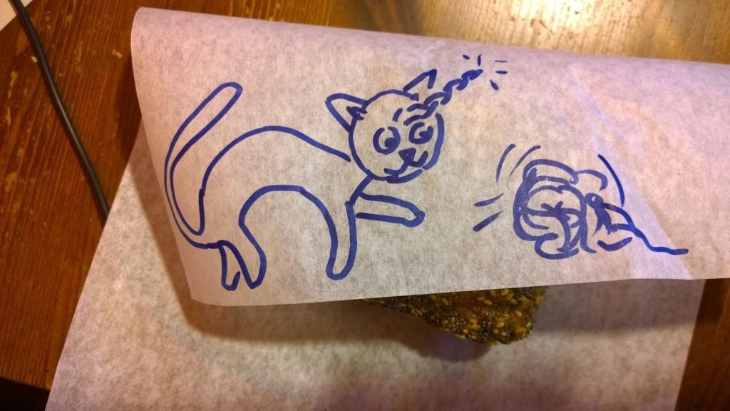 Die Einhorn-Katze