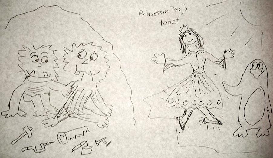 Prinzessin Tanja tanzt